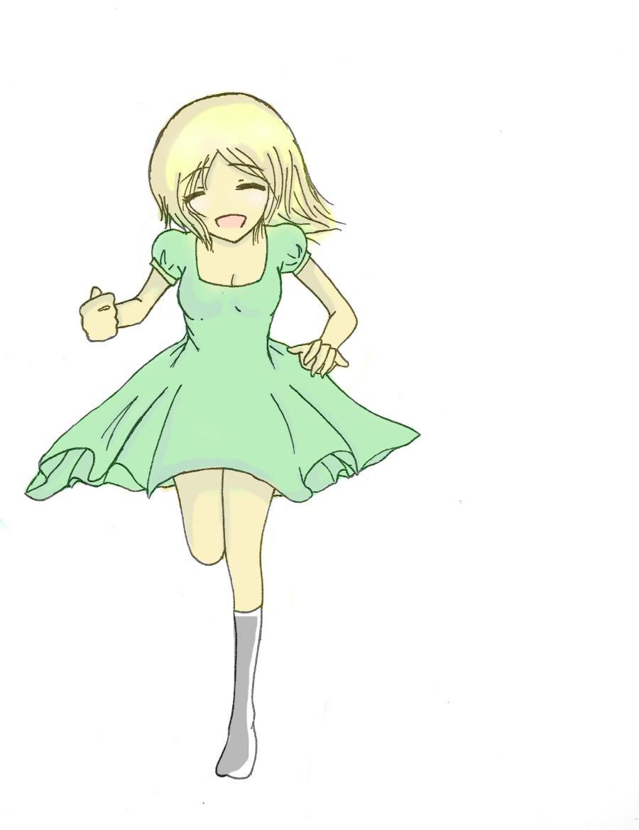900x1169 Happy Girl Drawing Image Drawing Skill