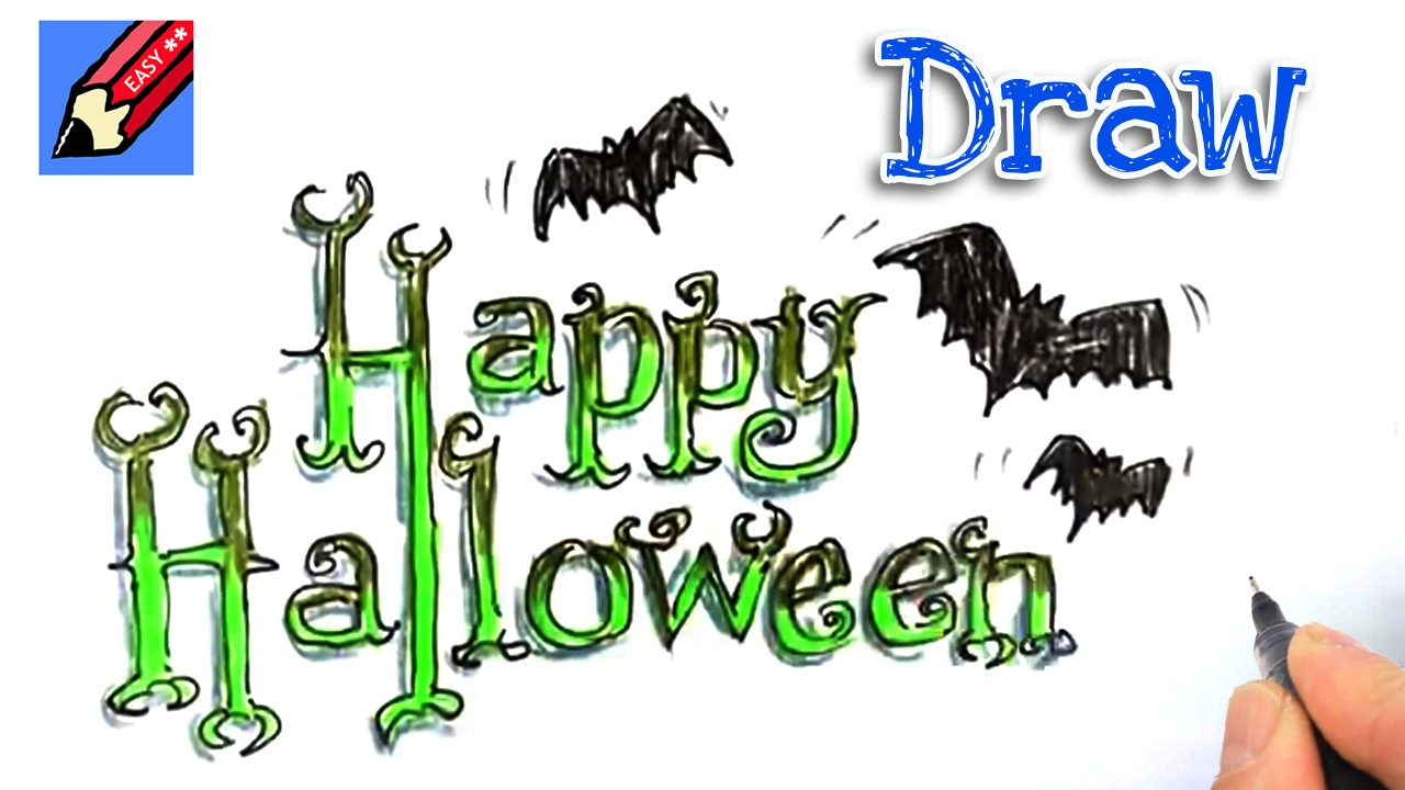 Happy Halloween Drawing at GetDrawings.com | Free for personal use ...