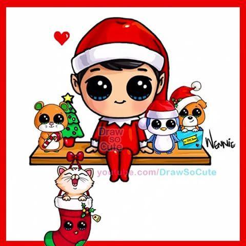 480x480 8 Christmas Drawings Already