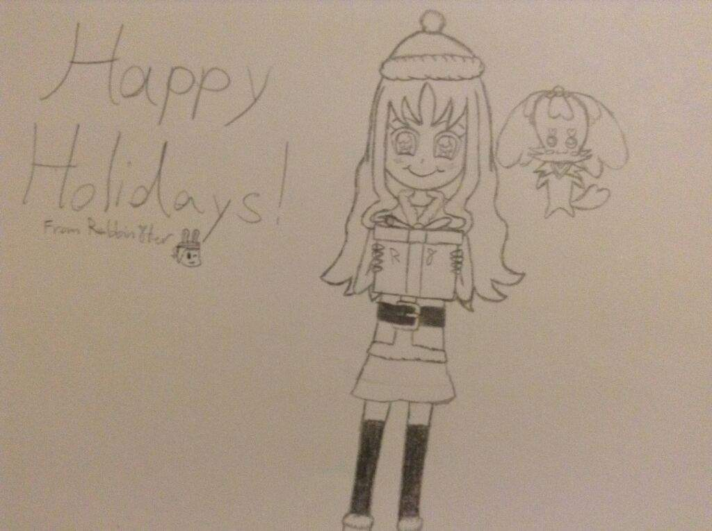 1024x765 Drawing] Happy Holidays! Glitter Force And Precure Amino