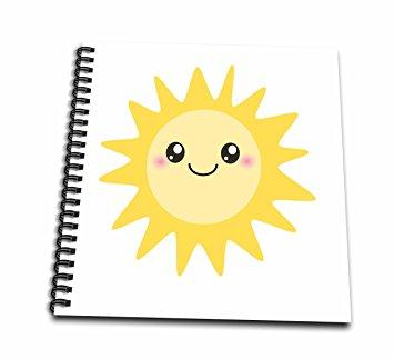 355x323 3drose Db 113062 1 Cute Happy Sun Kawaii Yellow Sunny