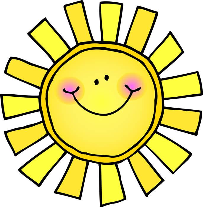 686x700 Cute Sun Clipart