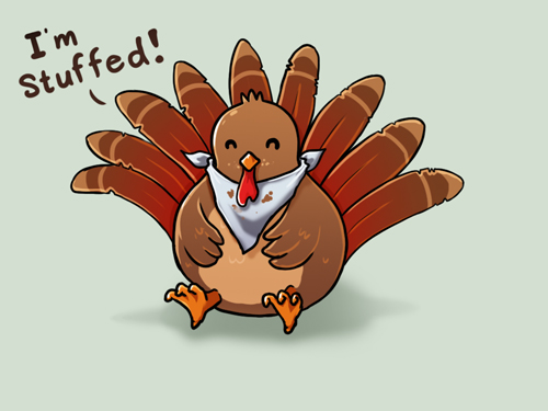 500x375 Happy Thanksgiving By Ramy