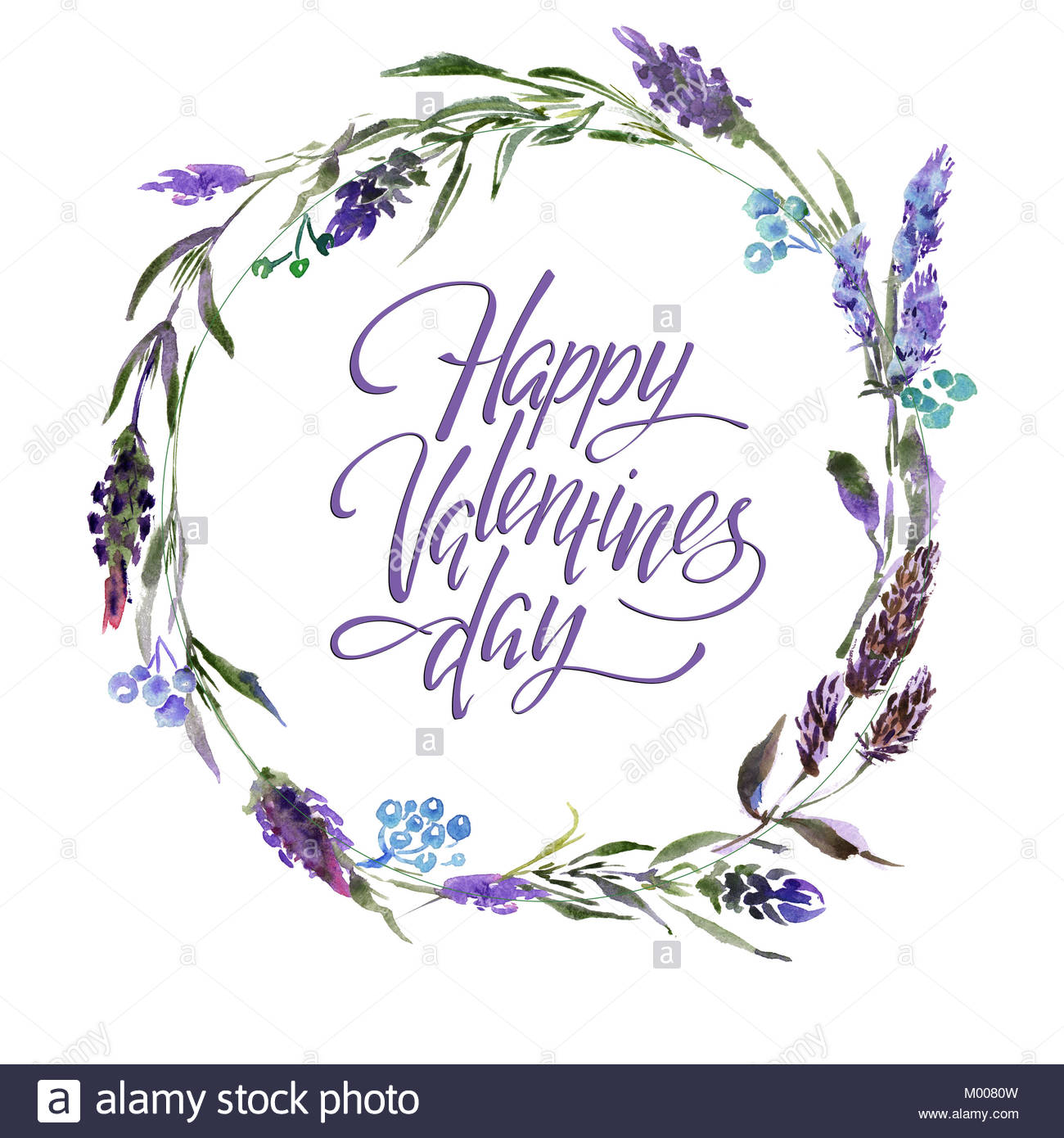 1300x1390 Valentine Flower Wreath. Watercolor Hand Drawing Flower