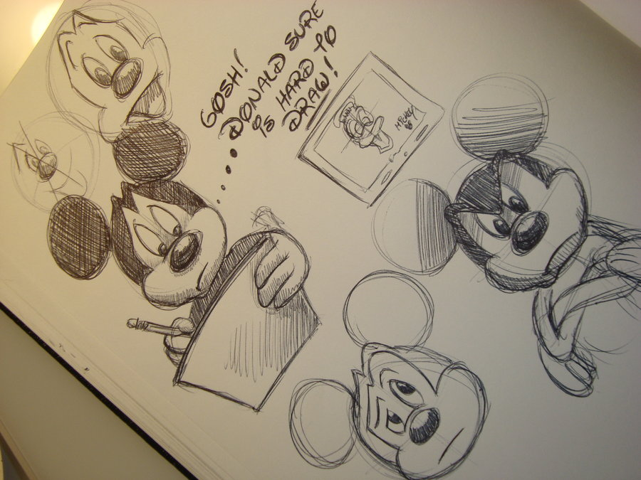 900x675 Disney Drawing Donald Is Hard By Cre8ive5766