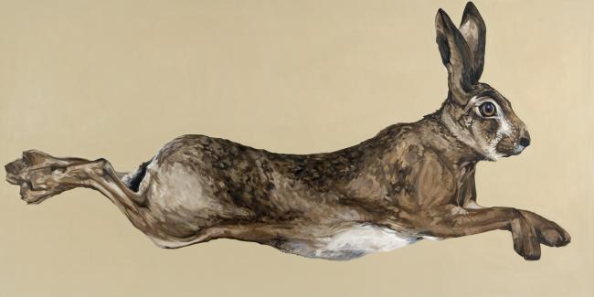 650x325 29. Running Hare Alexander Meddowes Fine Art Broker Alexander