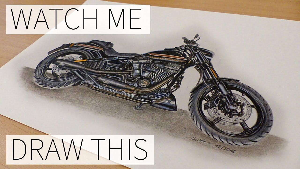 1280x720 Drawing Harley Davidson Cvo Pro Street Breakout