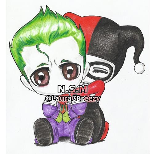 500x500 The Joker Harley Quinn