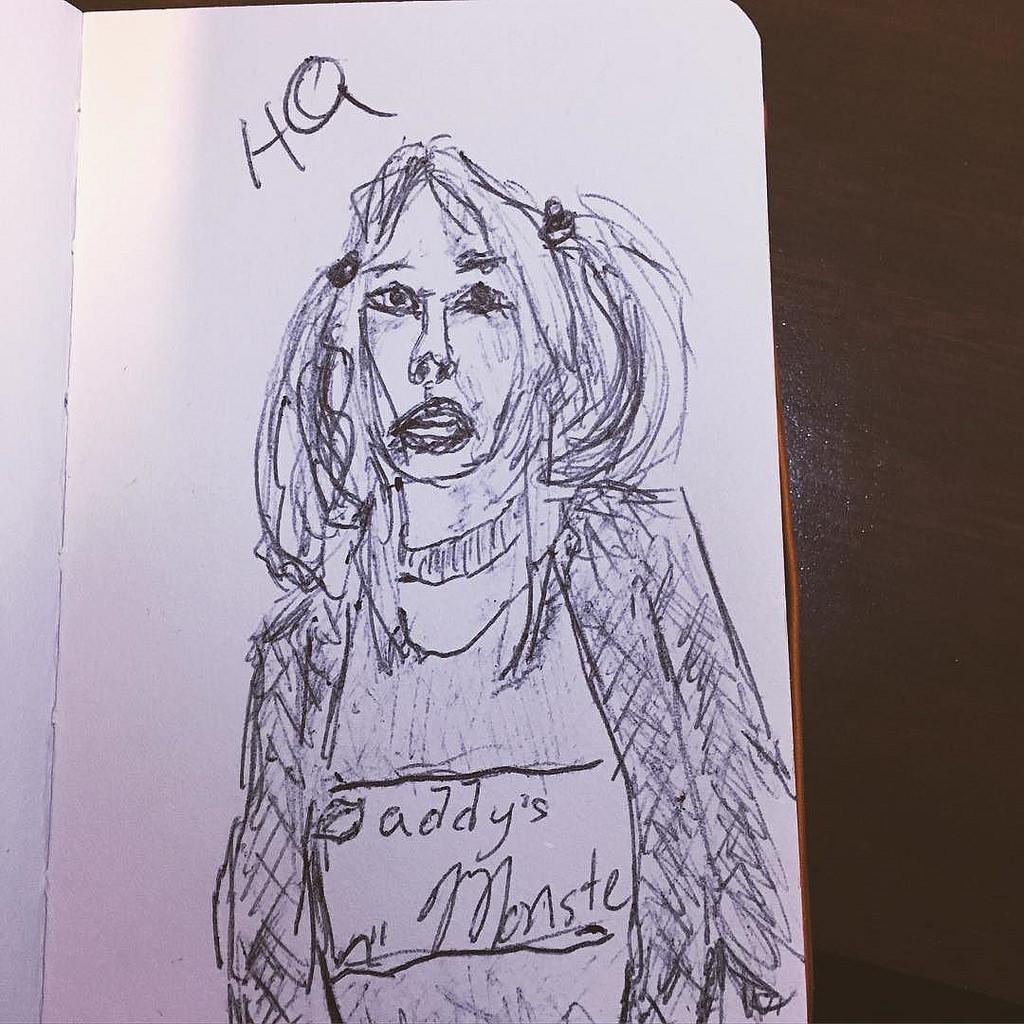 Harley Quinn Drawing At Getdrawings