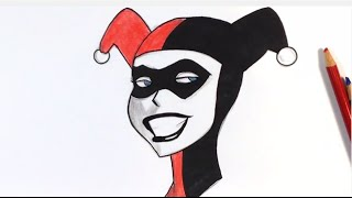 320x180 How To Draw Harley Quinn Step By Step Easy Drawings