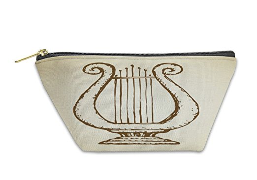 522x366 Gear New Accessory Zipper Pouch, Harp Drawing