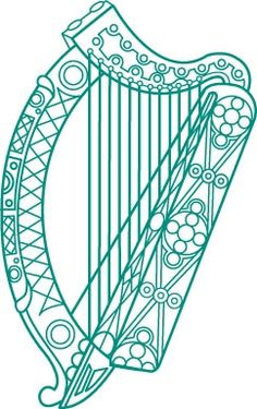 236x375 Harps On Harp, Scottish Thistle Tattoo And Irish