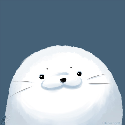 harp seal drawing at getdrawings com free for personal use harp