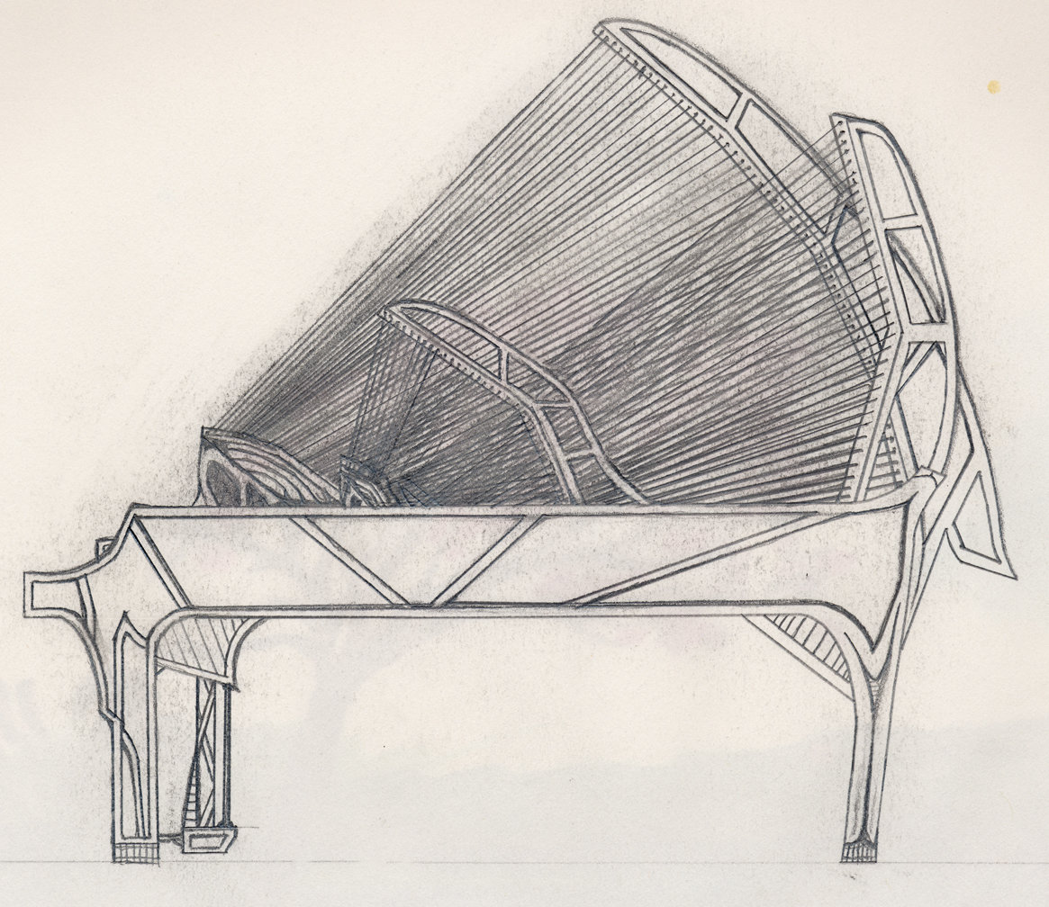 1165x1008 Piano Harpsichord Concenpt By Omfg Tis A Turtle