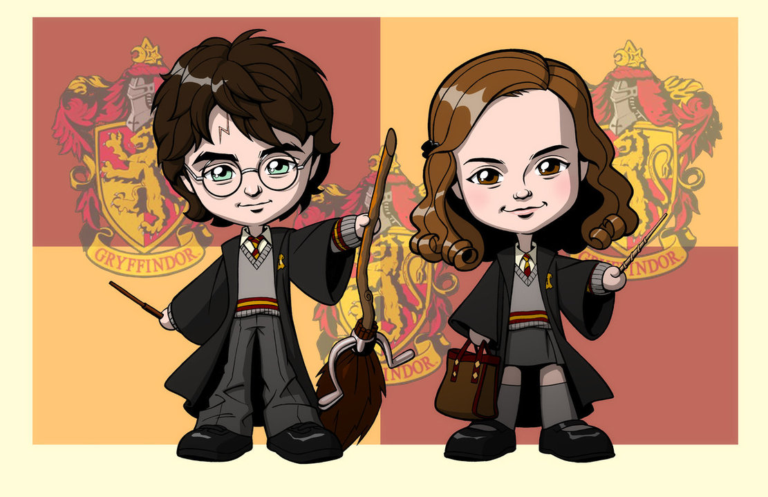 1111x719 Harry Potter Gryffindolls By Jerome K Moore