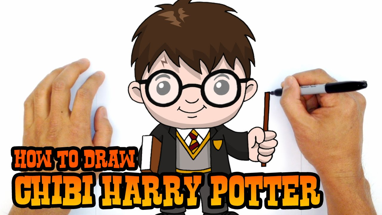 Harry Potter Cartoon Drawing At Getdrawings Com Free For Personal