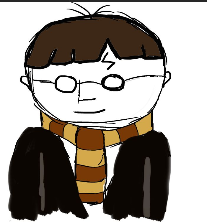 701x753 Simple Harry Potter Cartoon Drawing