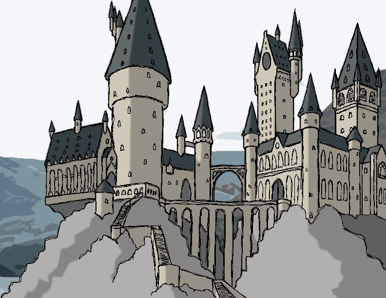 792x612 Hogwarts Tablet Drawing By Seajayjoonyo
