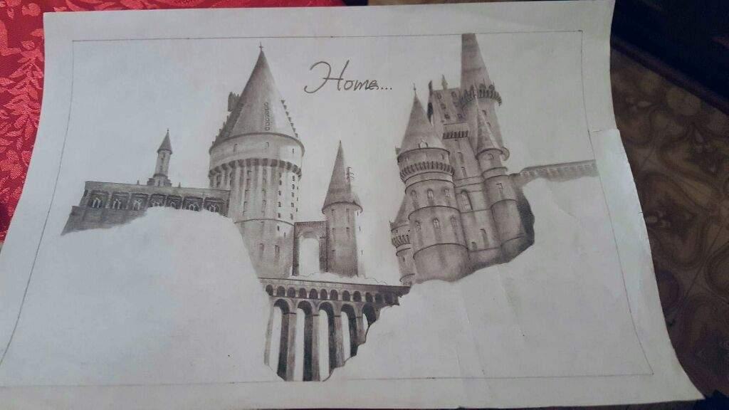 1024x576 My Drawings Harry Potter Amino