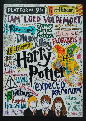 362x508 Harry Potter Collage [Ig Wikearts]