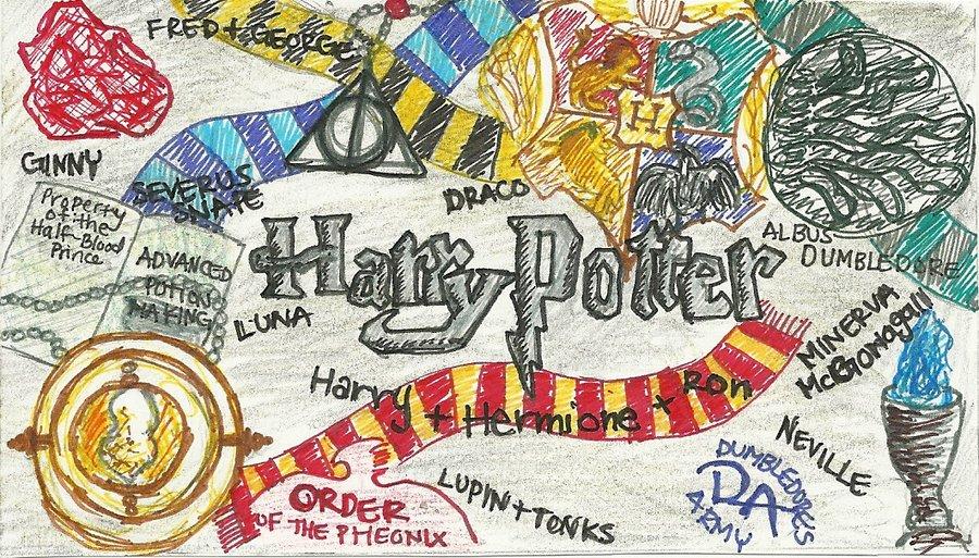 900x513 Harry Potter Collage By Stargazer728
