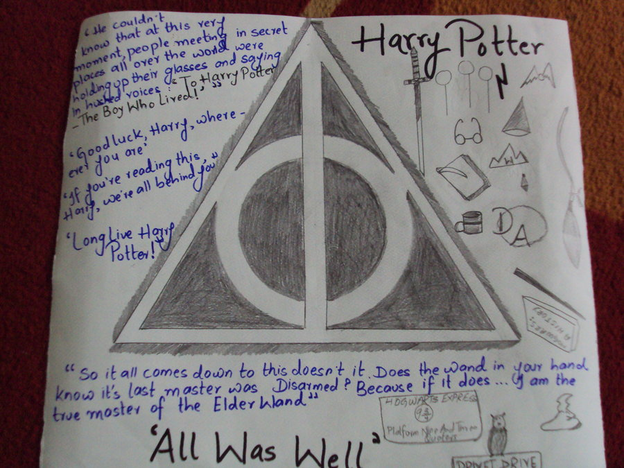 900x675 Harry Potter Collage By God 0f Mischief