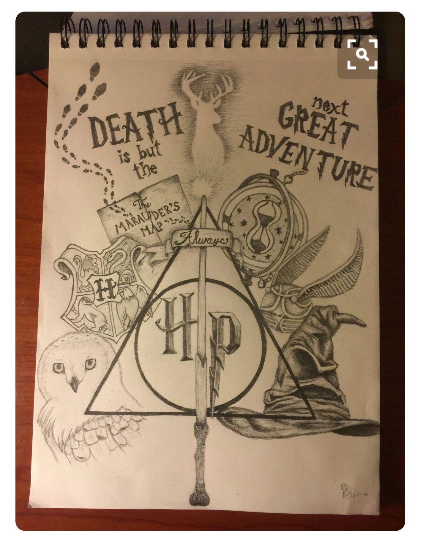 1424x1822 Pin By Jenna Hurley On Harry Potter Tattoo Ideas