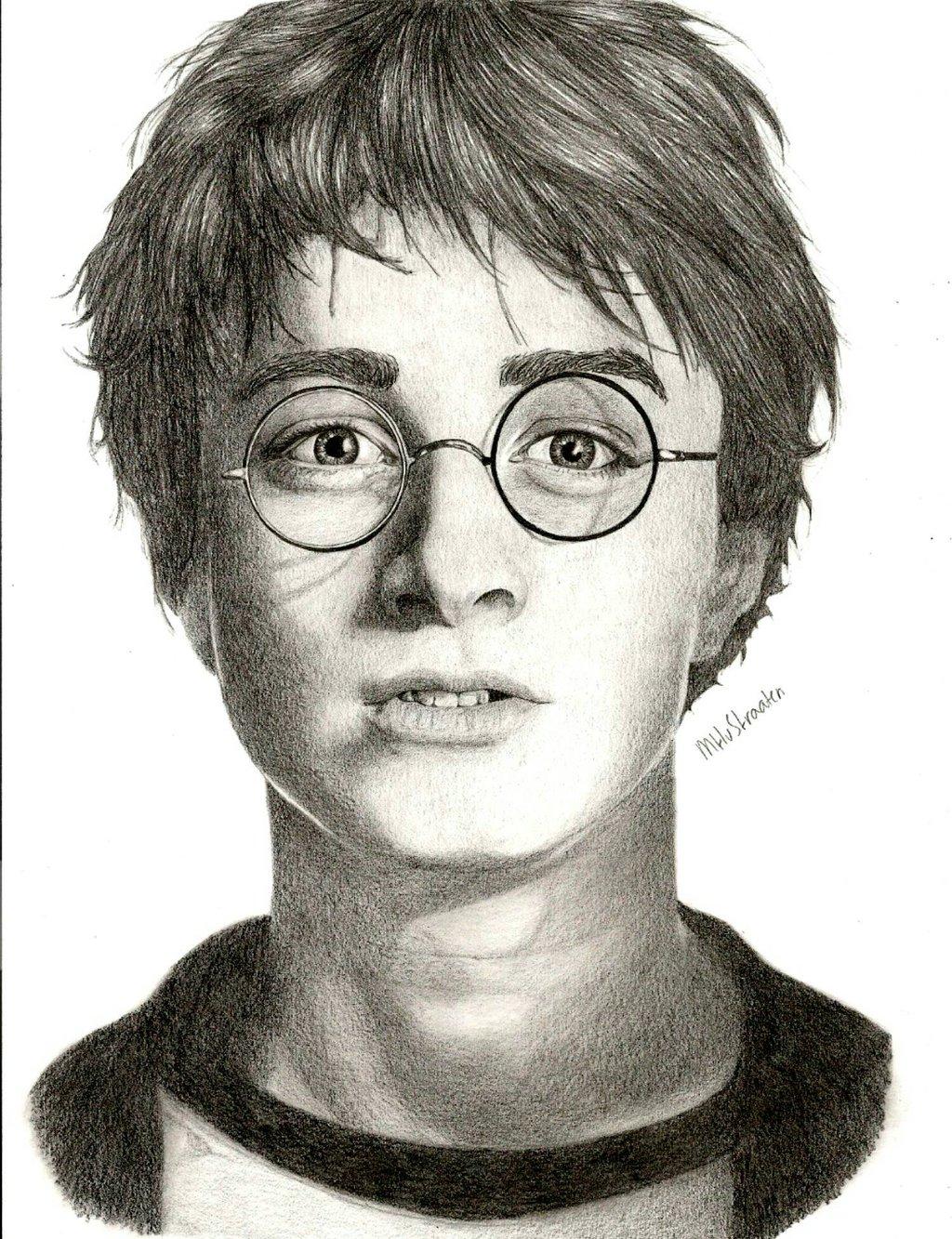 1024x1333 Harry Potter By Melissastraaten