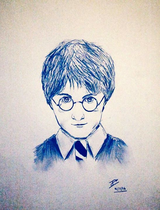 548x720 Harry Potter Drawing