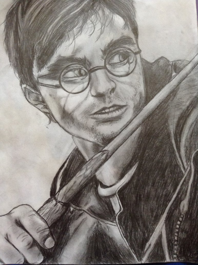 772x1034 Harry Potter Drawing By Slothloveinggal
