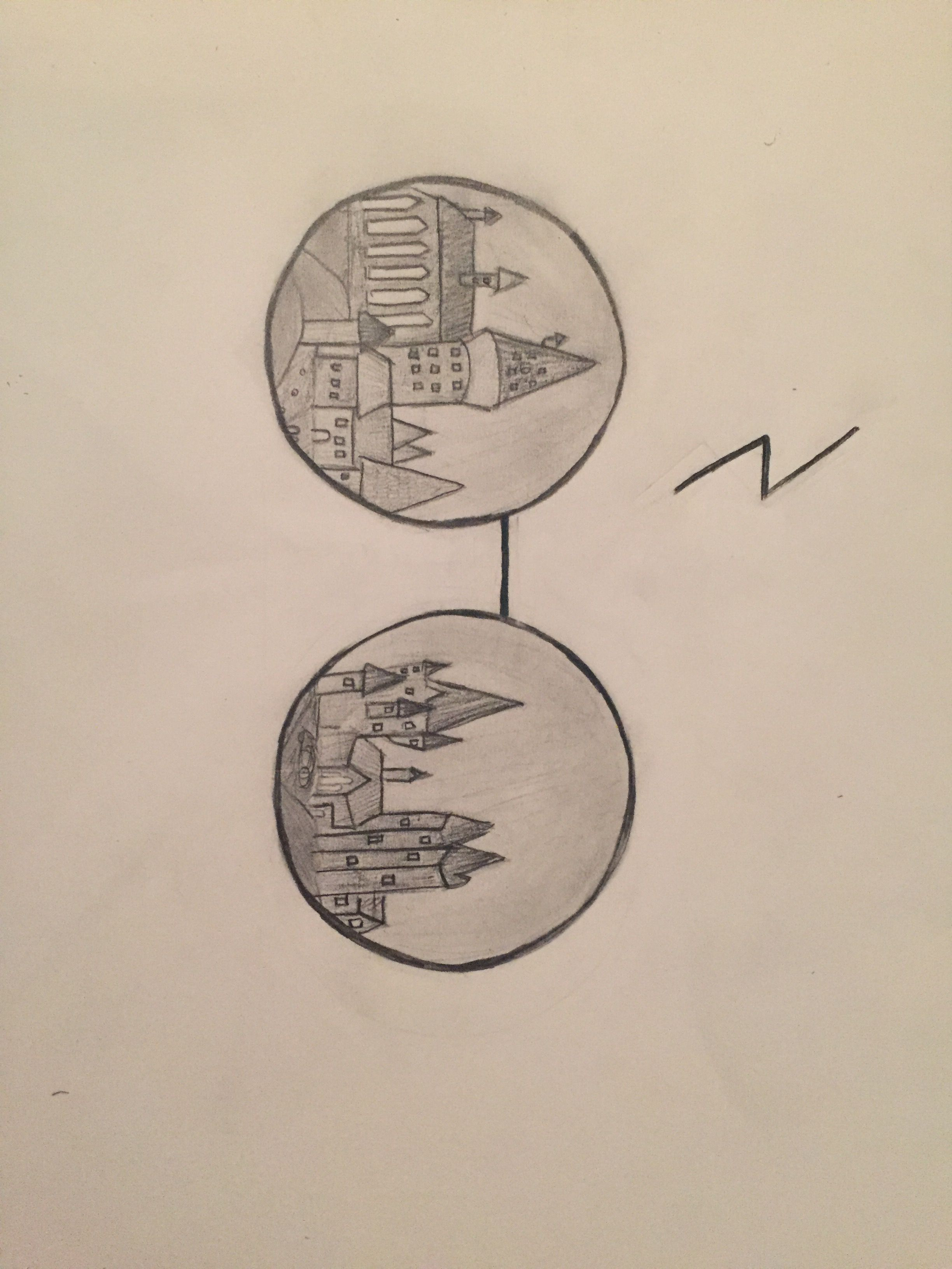 2448x3264 Harry Potter Drawing Of Hogwarts Fav Movies And Books