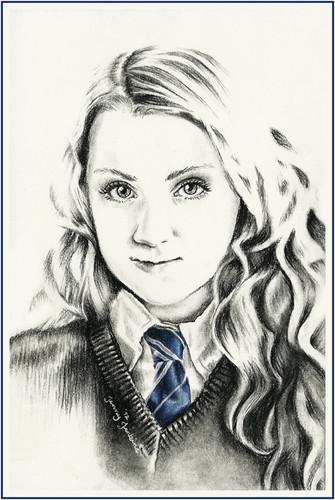 335x500 Harry Potter Images Luna Lovegood Drawing By Jenny Jenkins Hd