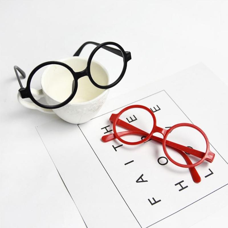 800x800 Childrens Kids Round Shape Black Or Red Frame Harry Potter Glasses