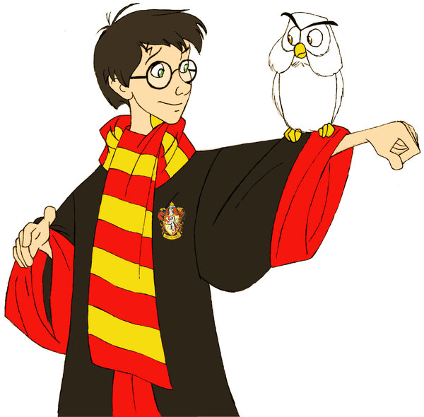 600x590 Harry Potter And Hedwig By Afo2006