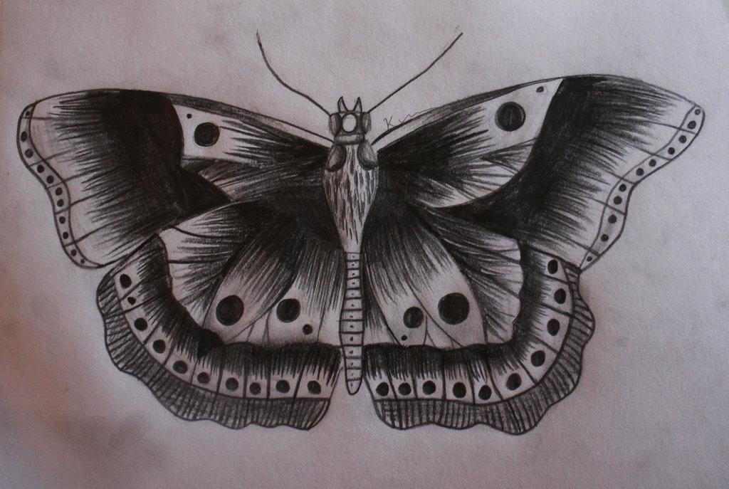 1024x687 Butterfly Tattoo Harry Styles By Kimmuurt