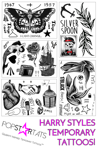 400x600 Harry Styles Tattoos Amp Meanings