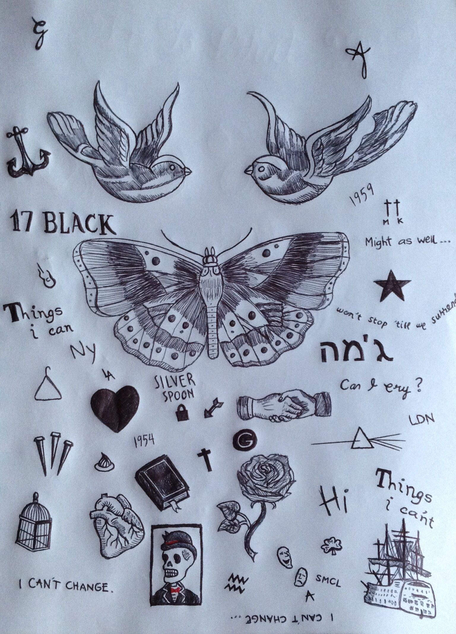 1536x2138 Harry Styles True Art! Tattoosgtgt They Need The Anchor And His