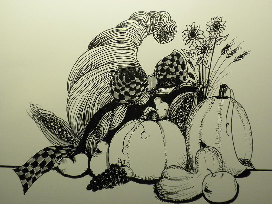 900x675 Display Drawing By Laura Collins