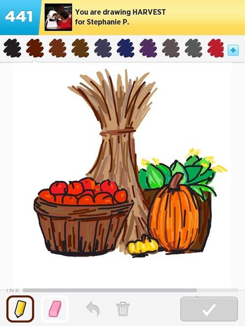 500x667 Harvest Drawings