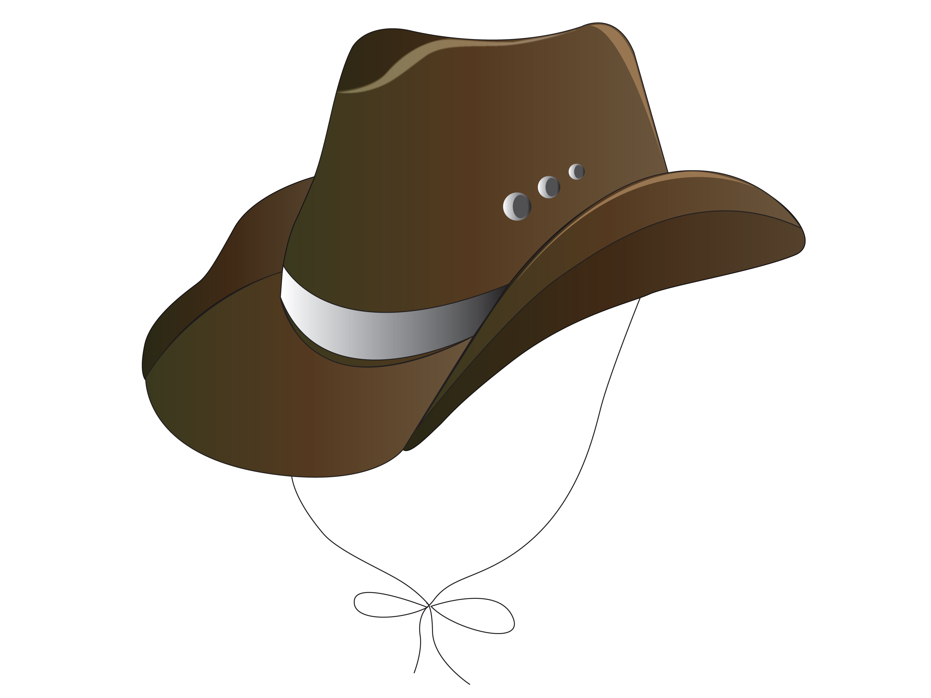 3200x2400 How To Draw A Cowboy Hat In Adobe Illustrator Cs3 8 Steps