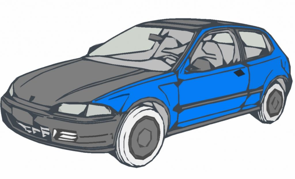 1024x623 Honda Civic Hatchback Drawing Ride A Cart Galleries