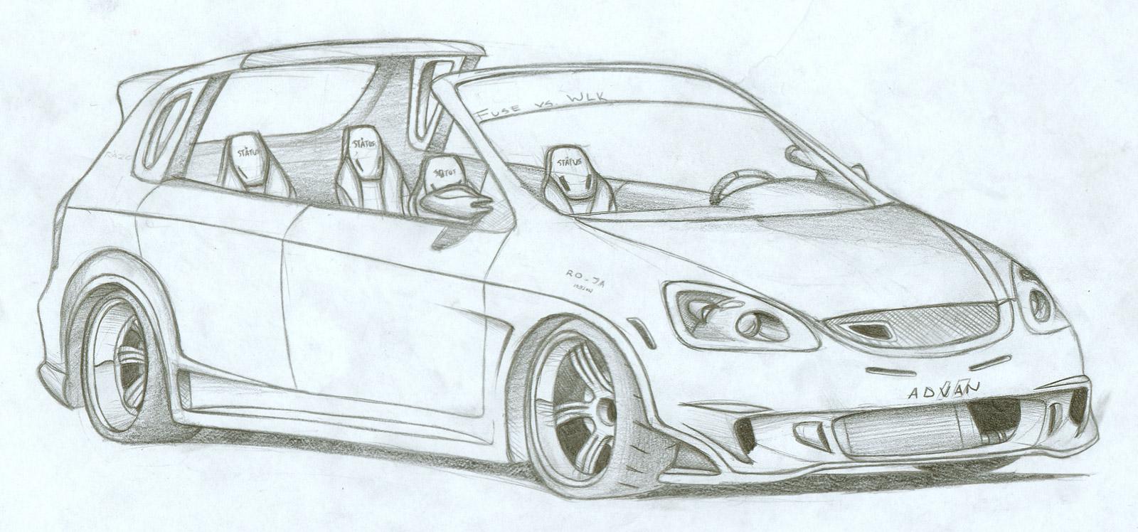 hatchback drawing at getdrawings com