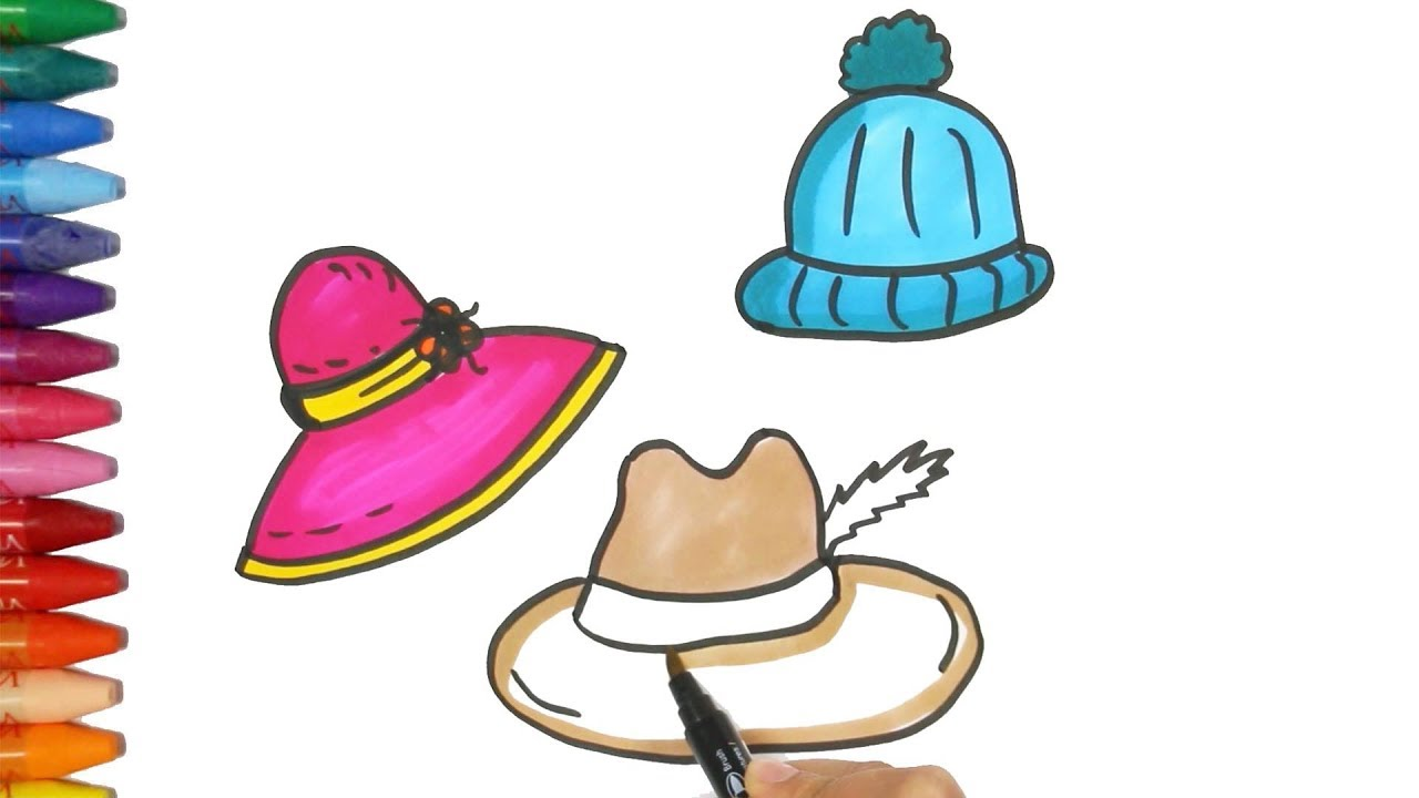1280x720 How To Draw Hats