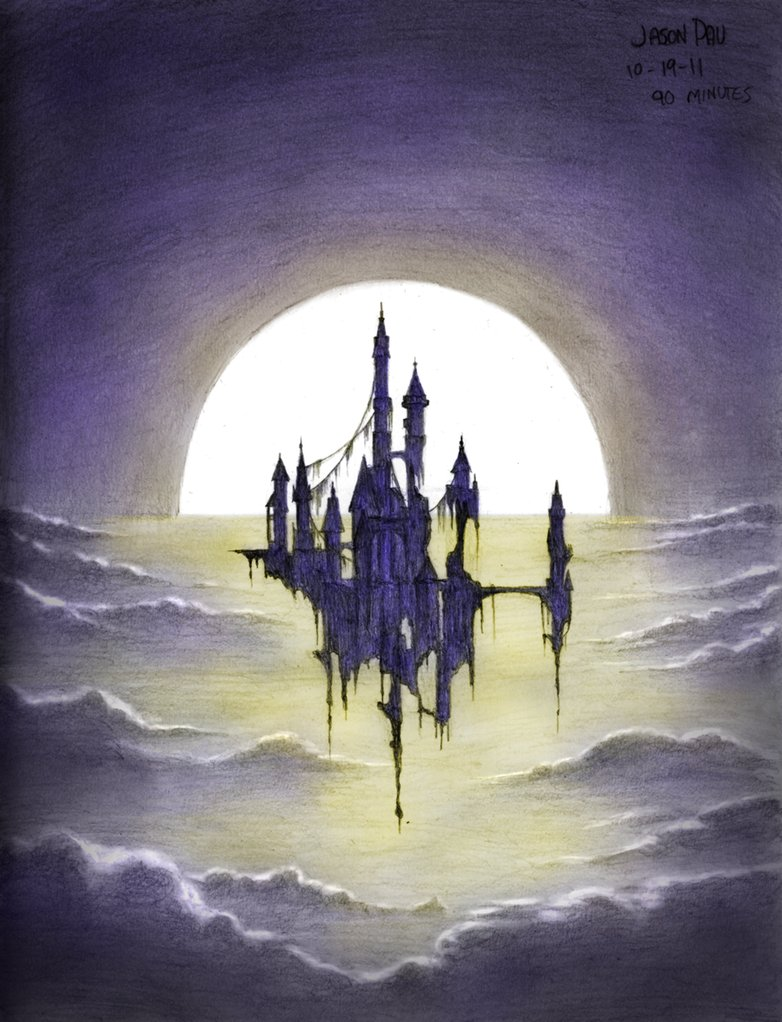 782x1022 Haunted Castle By Jdp89