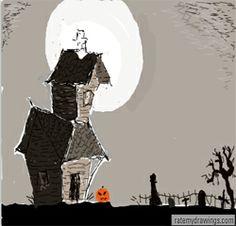 236x226 Haunted House Clip Art