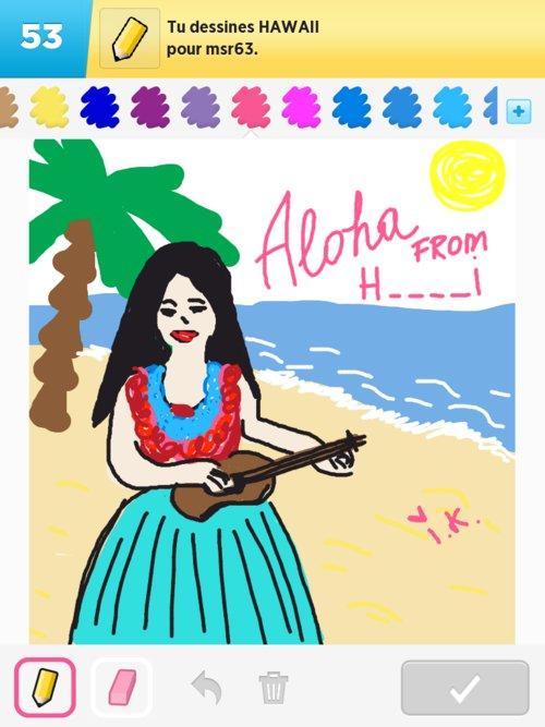 500x667 Hawaii Drawings