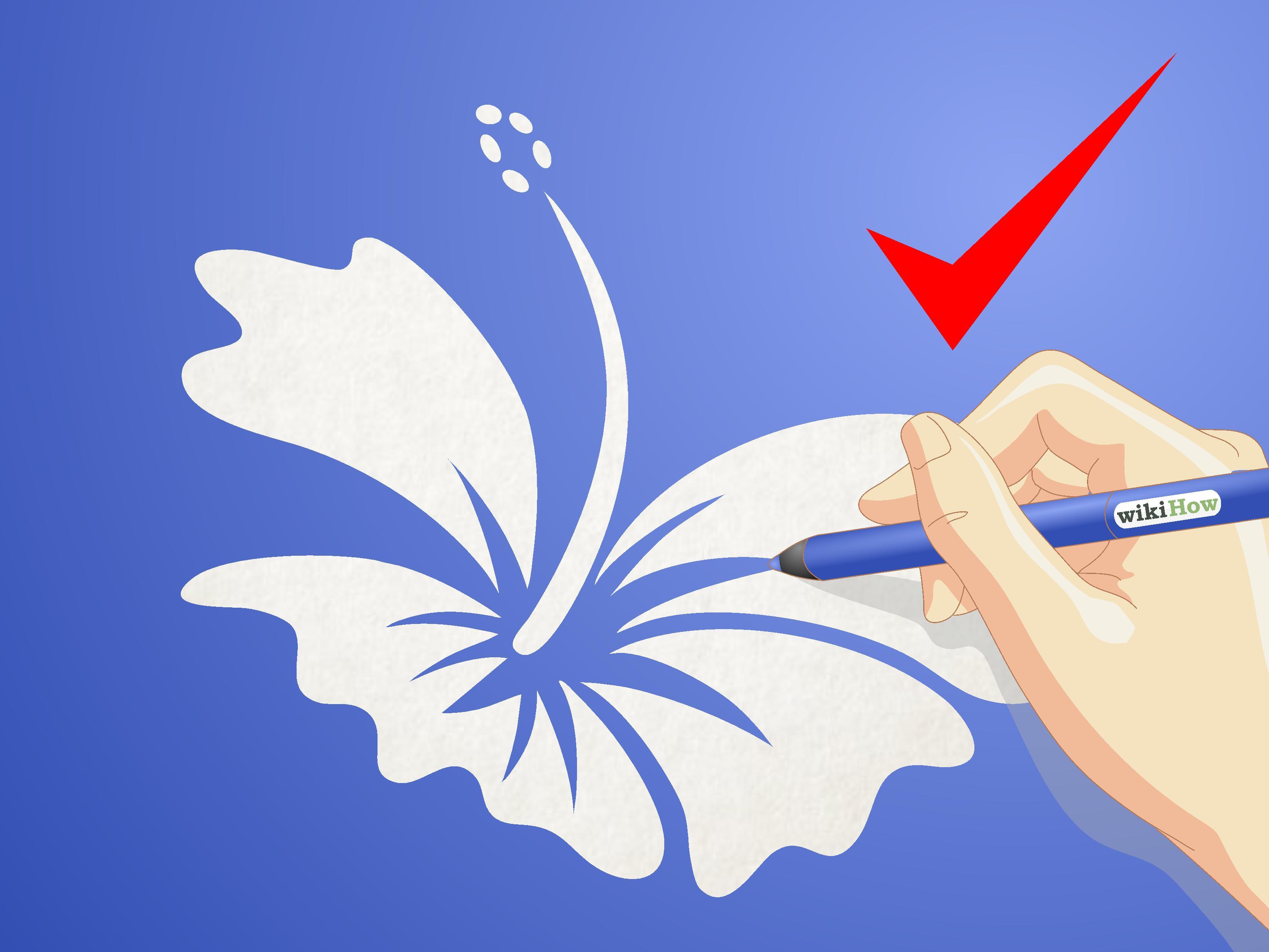 3200x2400 2 Easy Ways To Draw A Cartoon Hibiscus Flower