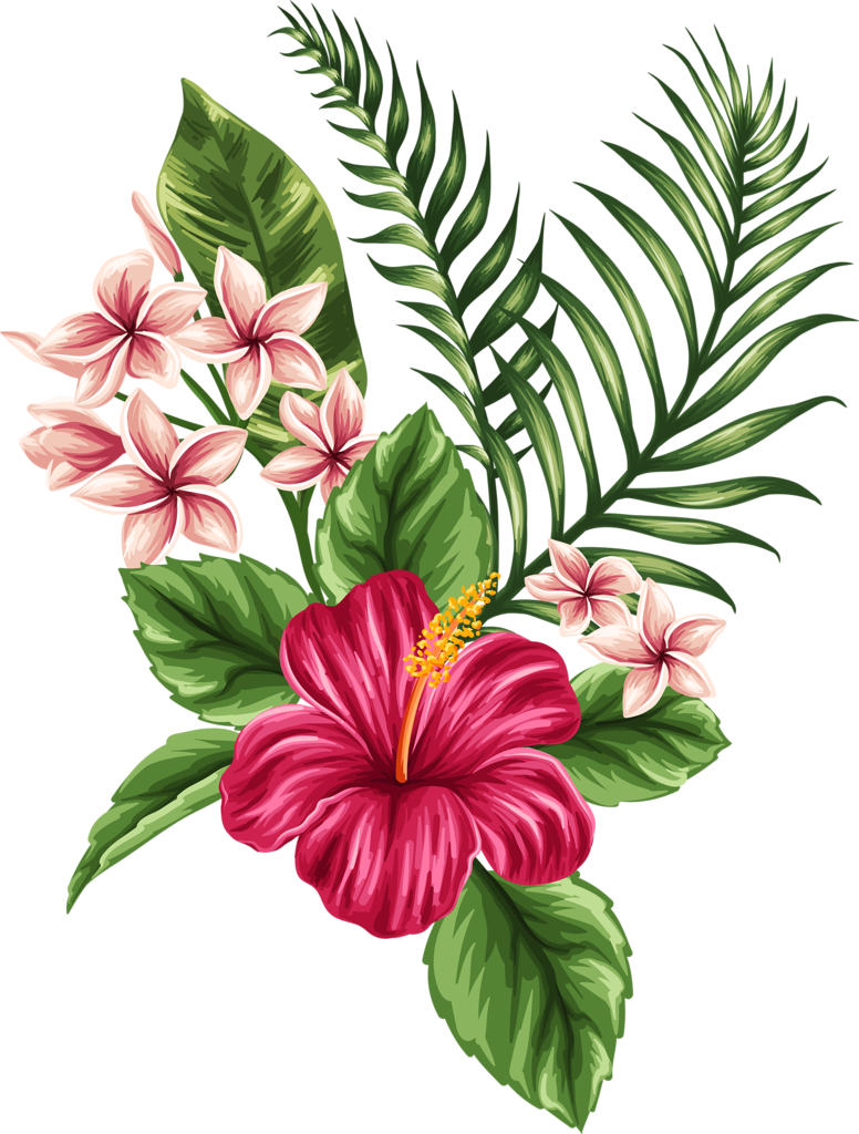 Hawaii flower drawing at getdrawings free for personal use 776x1024 beautiful flower seamless patterns retro vector set 06 izmirmasajfo