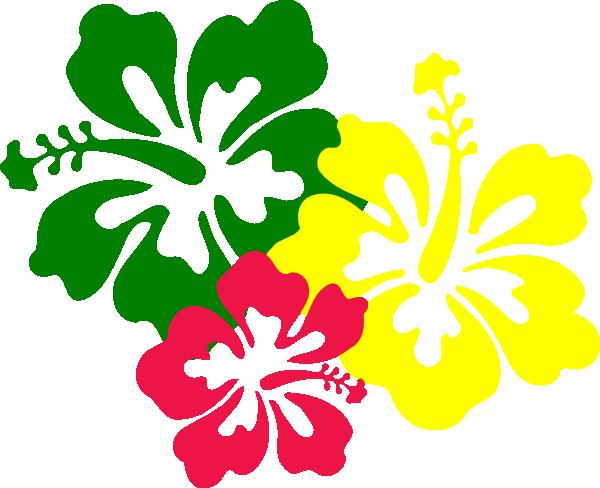 600x488 Hawaiian Flower Clip Art Hibiscus Flowers Clip Art
