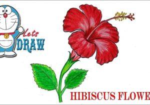300x210 Hawaiian Flower Drawing Drawn Hibiscus Hawaii Flower
